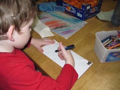 Lex writes a letter