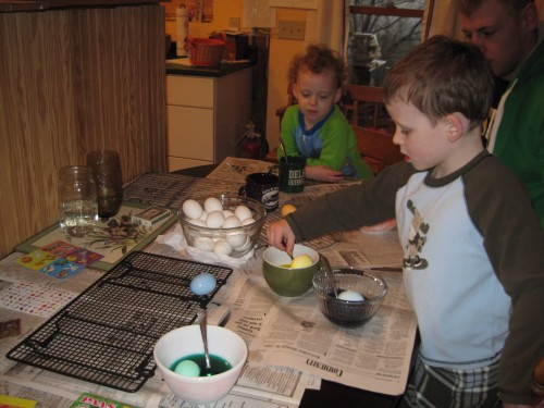 coloring more eggs