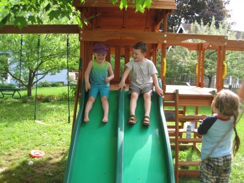 slide race