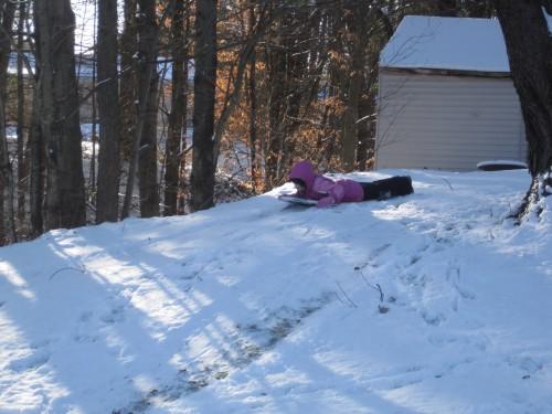 sledding eve