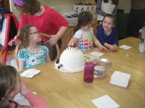 cake laughing
