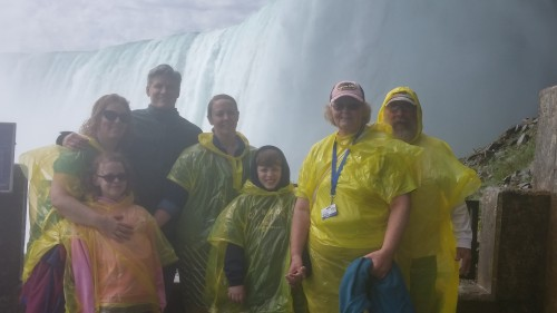 Journey Behind the Falls.  Up close and personal with the Horseshoe Falls.
