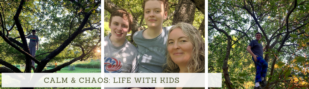 Calm and Chaos: Life with kids
